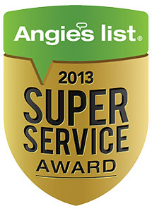 Angie's List Super Service Award 2005-2013